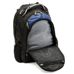 Front pocket view of Ibex 17-inch notebook backpack