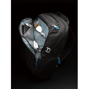 Front compartment view of thule crossover backpack