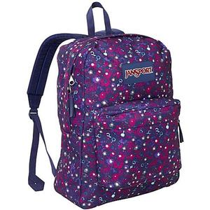 Jansport superbreak backpack berrylicious ditzy daisy
