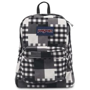 Jansport superbreak backpack black cross block