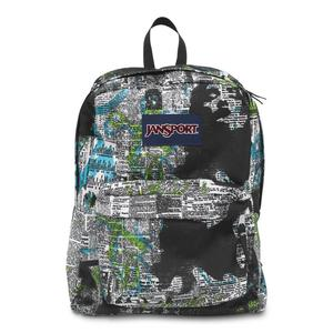 Jansport superbreak backpack mammoth blue news stand