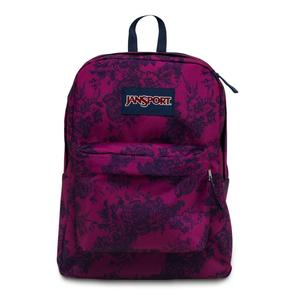Jansport superbreak backpack navy moonshine vintage floral