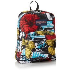Jansport superbreak backpack white multi kono