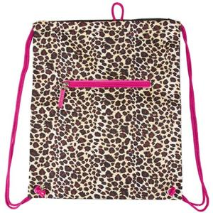 Leopard print stylish backpack
