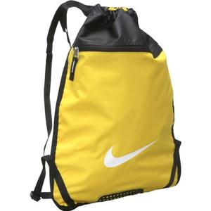 Nike team training backpack in yellow