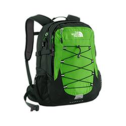 North face best-seller Borealis backpack Flashlight green