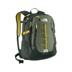 North face Popular Surge II backpack anchorage green