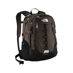 North face Popular Surge II backpack coffee brown ripstop
