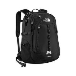 North face Popular Surge II backpack tnf black plain