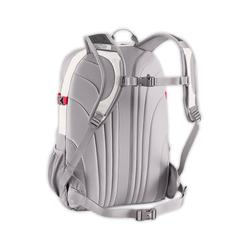 North face women borealis backpack main compartment view