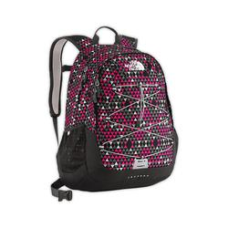 North face Women Jester II backpack passion pink peak print