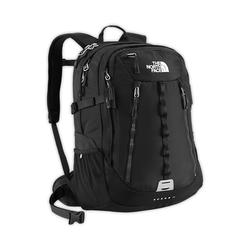 North face Women Surge II backpack tnf black plain