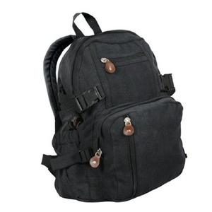 Stylish canvas backpack for girls