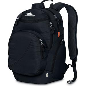 high sierra boondock backpack in black