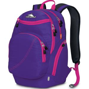 high sierra boondock backpack in deep purple fuchsia