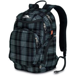 high sierra boondock backpack in shaded grey and black
