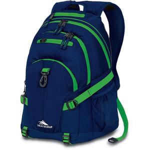 high sierra loop backpack in blue with true navy kelly