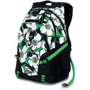 high sierra loop backpack in flowers black kelly pattern