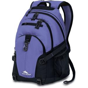high sierra loop backpack in lilac and purple
