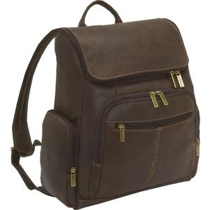 Best value for money Le Donne leather distressed notebook backpack