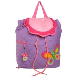 Cute butterfly decorated backpack for girls