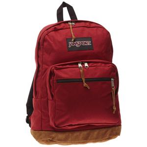 Jansport school backpack in viking red