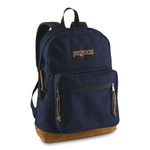 Jansport school book backpack in navy color option