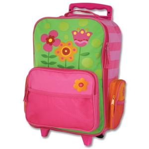 Rolling luggage featuring cute design for girls