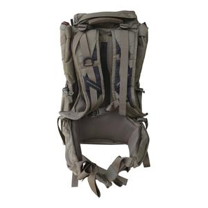 Back panel view of Eberlestock X2 military backpack