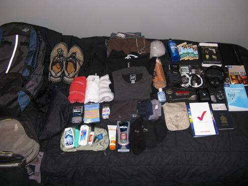 What Goes in a Travel Bag