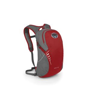 Osprey Daypack in red