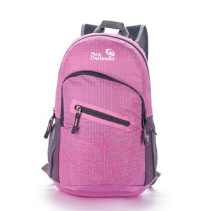 Outlander Foldable Travel Daypack in pink
