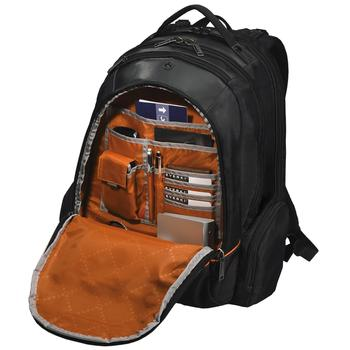 Front compartment design in Everki Checkpoint Friendly Backpack