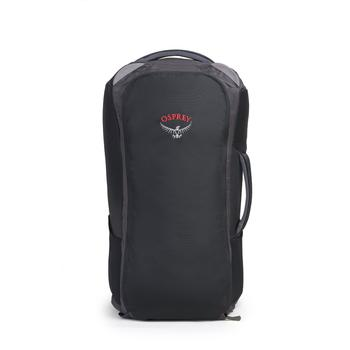 front view of osprey highly rated travel backpack