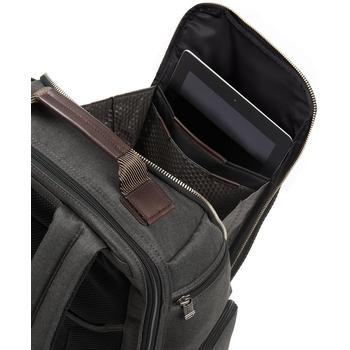 Top compartment view of Tumi Alpha Bravo laptop backpack
