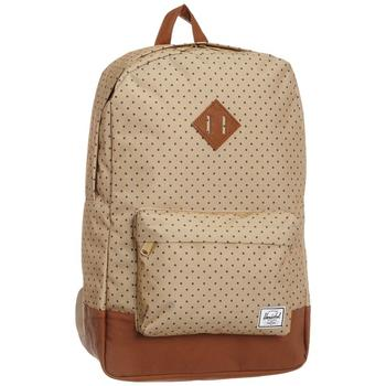 Herschel Supply Heritage backpack with polka dot pattern