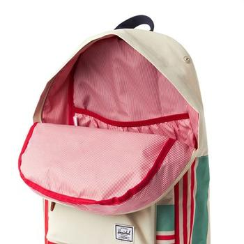 Inner compartment view of Herschel Supply Co Heritage backpack