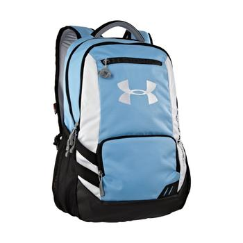 Under Armour UA Hustle Backpack in unique blue color