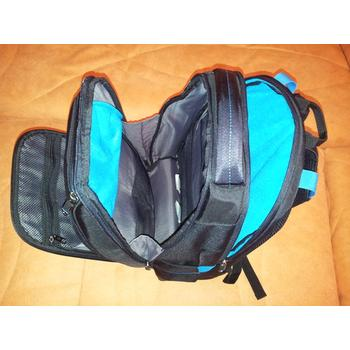 Inner compartment view of Samsonite Luggage Vizair Laptop Backpack