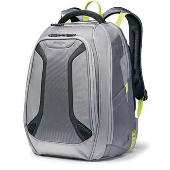 Samsonite Luggage Vizair Laptop Backpack in green grey color