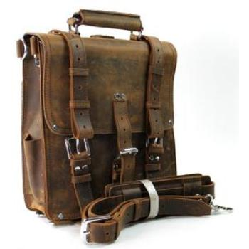 Best backpack made of leather