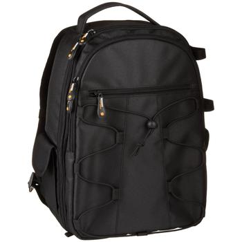 Side view of AmazonBasics Camera Backpack