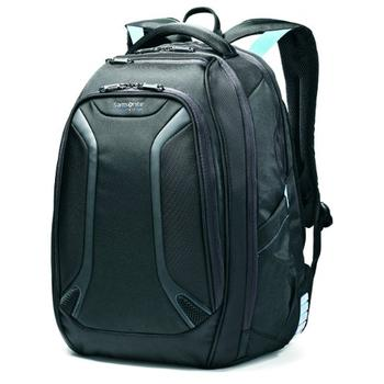 Samsonite Luggage Vizair Laptop Backpack in pink silver color