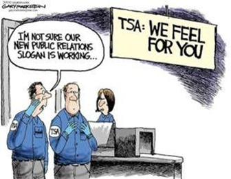 TSA Checkpoint Laptop Scan Headache